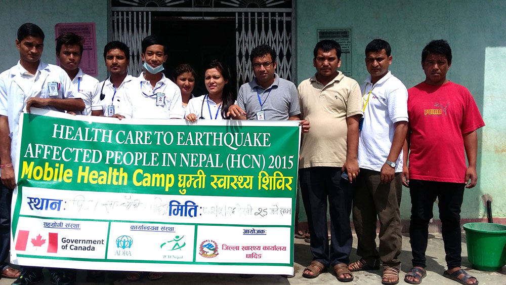 ICD-Nepal-Earth-Quake-Health-Camp
